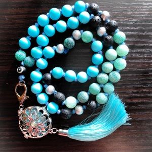 Jewelry - Car Mala Oil Diffuser Aromatherapy for Rearview